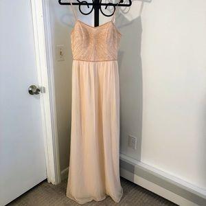 Davids Bridal blush pink size 8